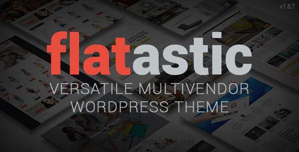 Flatastic 1.8.8 – Versatile Multi Vendor WordPress Theme