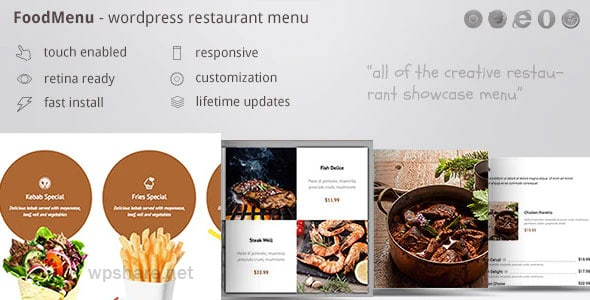 FoodMenu 1.16 – WP Creative Restaurant Menu