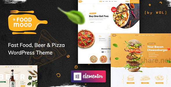 Foodmood 1.1.3 – Cafe & Delivery WordPress Theme