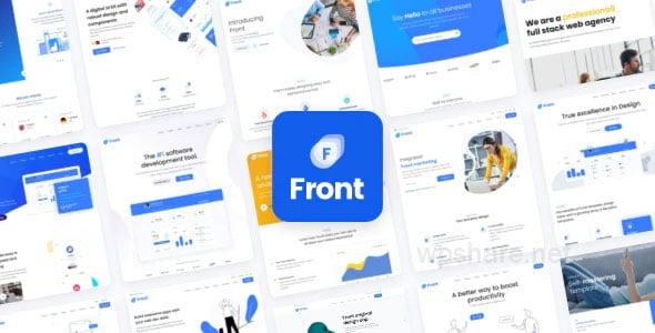 Front – Multipurpose Business WordPress Theme v1.1.4