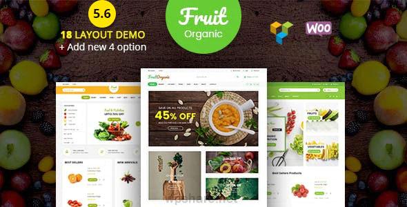 Food Fruit 5.9 – Organic Farm, Natural WooCommerce WordPress Theme