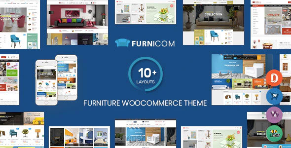 Furnicom 2.0.3 – Furniture Store & Interior Design WordPress WooCommerce Theme