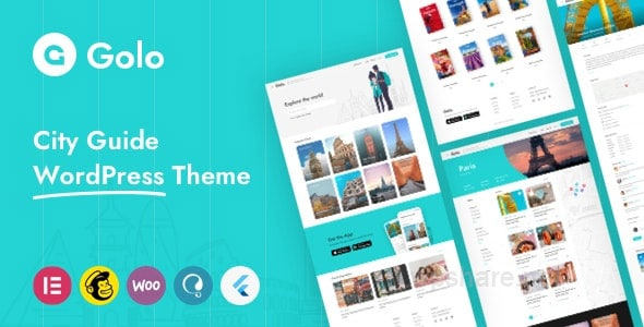 Golo 1.4.4 – Directory & Listing, Travel WordPress Theme