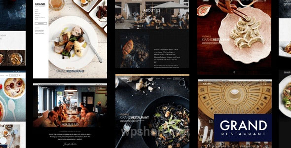 Grand Restaurant WordPress v5.9.4