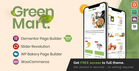 GreenMart 3.0.5 – Organic & Food WooCommerce WordPress Theme