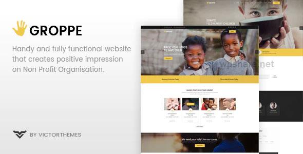 Groppe 2.7.1 – Nonprofit WordPress Theme