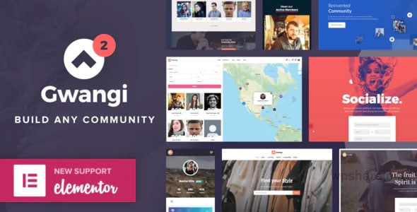 Gwangi 2.3.3 – PRO Multi-Purpose Membership, Social Network & BuddyPress Community Theme