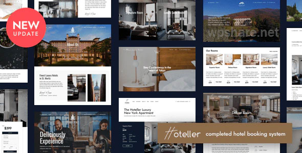 Hoteller 5.7.0 – Hotel Booking WordPress