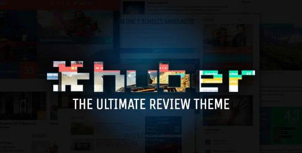Huber 2.28.2 – Multi-Purpose Review Theme