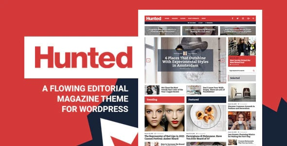 Hunted v8.0 – A Flowing Editorial Magazine Theme