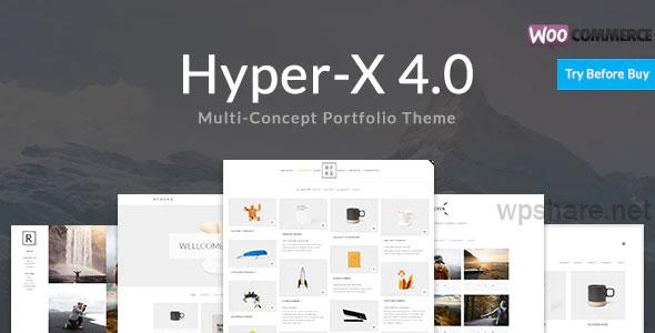 HyperX 4.9.9.1 – Responsive WordPress Portfolio Theme
