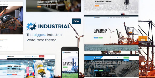 Industrial 1.6.1 – Factory Business WordPress Theme