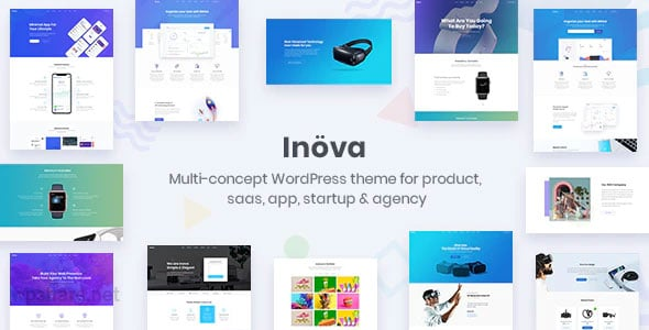 Inova 3.6 – Multipurpose WordPress Theme For Startups & Agencies