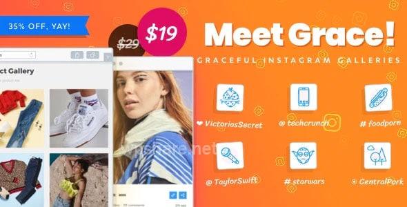 Grace v1.2.4 – Instagram Feed for WordPress