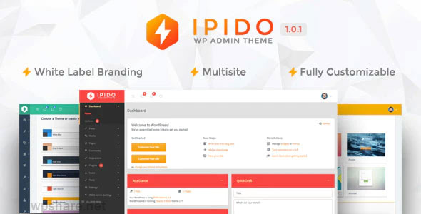 IPIDO 1.0.1 – White label WordPress Admin Theme