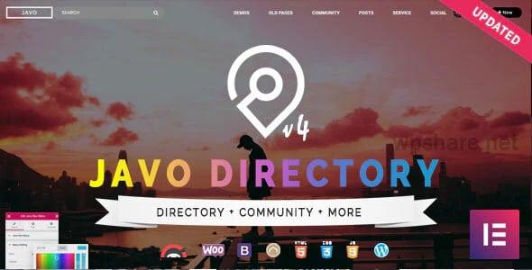 Javo Directory 4.2.1 – WordPress Theme