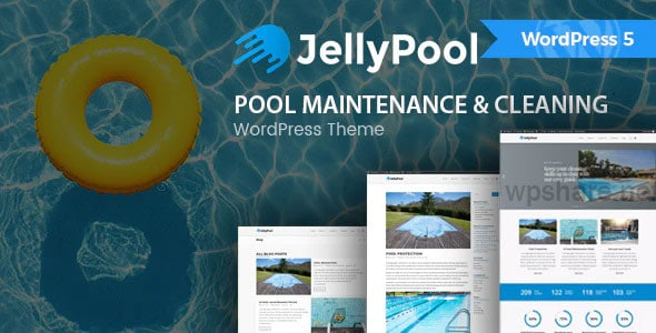 JellyPool 1.3 – Pool Maintenance & Cleaning WordPress Theme