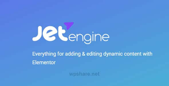 JetEngine 2.9.4 – Plugin for Elementor