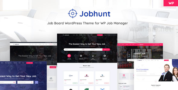 Jobhunt – Job Board WordPress theme for WP Job Manager v1.2.6