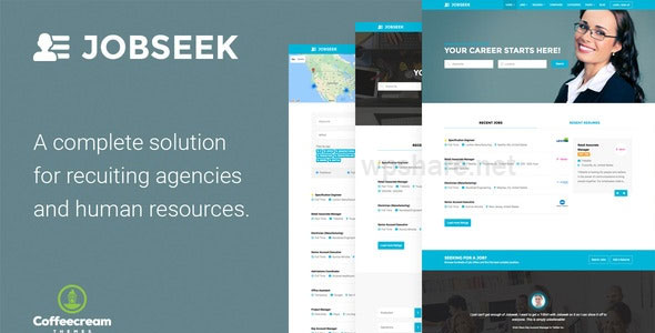 Jobseek 2.2.4 – Job Board WordPress Theme