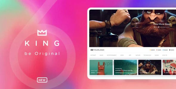 King 6.5 – WordPress Viral Magazine Theme