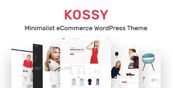 Kossy 1.24 – Minimalist eCommerce WordPress Theme