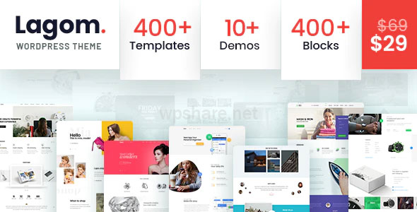Lagom v1.2 – Multi Concept MultiPurpose WordPress Theme