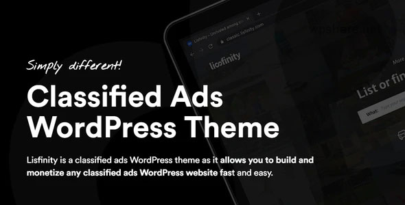 Lisfinity 1.1.19 – Classified Ads WordPress Theme