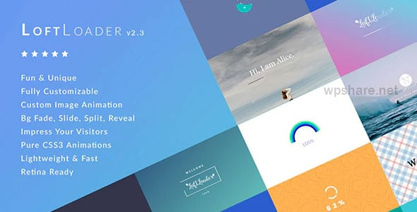 LoftLoader Pro 2.3.0 – Preloader Plugin for WordPress