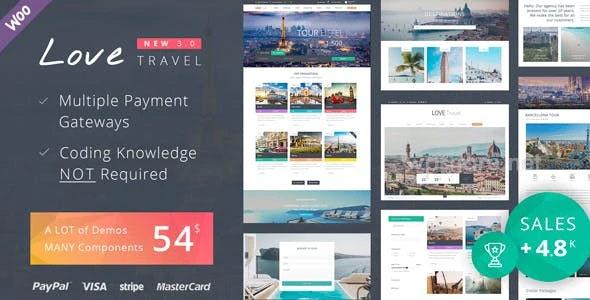 Love Travel 4.1 – WordPress Theme