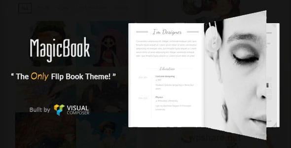 MagicBook 1.2.5 – A 3D Flip Book WordPress Theme