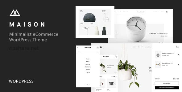 Maison 1.23 – Minimalist eCommerce WordPress Theme
