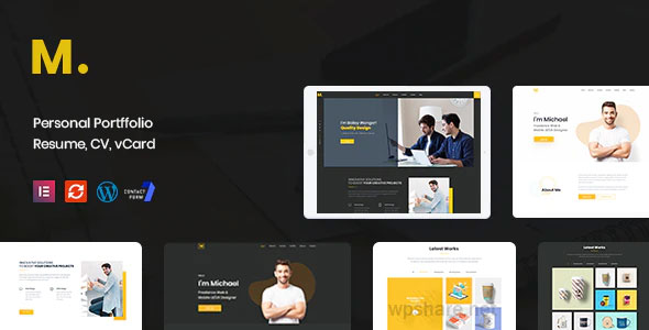 Mak 1.2.6 – Personal Portfolio & Resume WordPress Theme