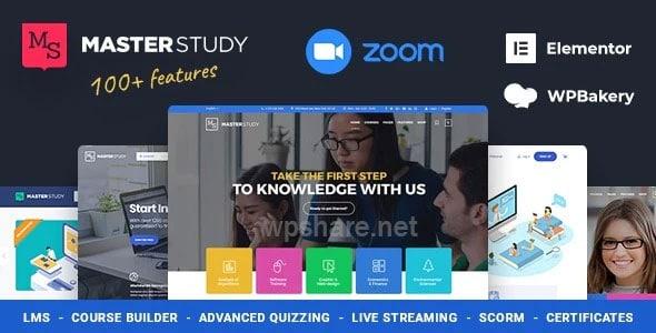 Education WordPress Theme – Masterstudy v4.2.1