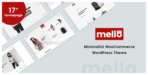 Mella 1.2.19 – Minimalist Ajax WooCommerce WordPress Theme