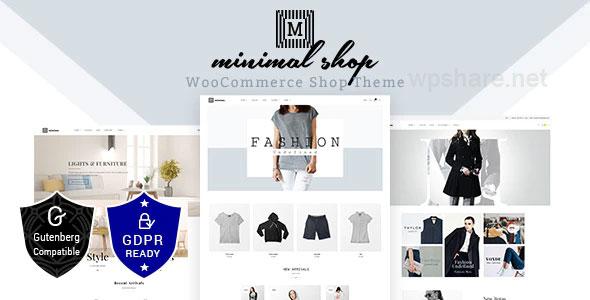 Minimal WooCommerce WordPress v2.2