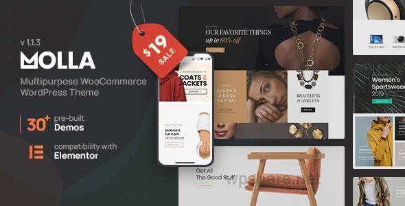 Molla | Multi-Purpose WooCommerce Theme v1.2