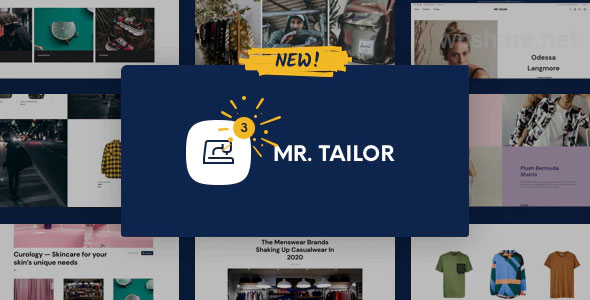 Mr. Tailor 3.0.5 – eCommerce WordPress Theme for WooCommerce