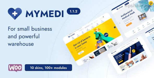 MyMedi 1.1.2 – Responsive WooCommerce WordPress Theme