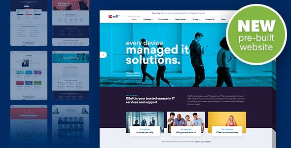 Nanosoft 1.1.13 – WP Theme for IT Solutions and Services Company