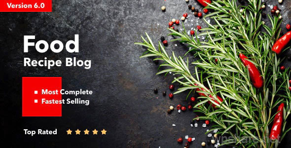 Neptune v6.3.4 – Theme for Food Recipe Bloggers & Chefs