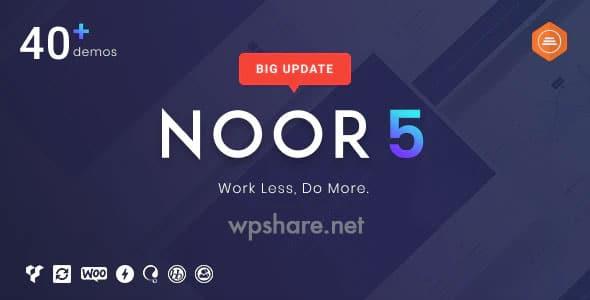 Noor 5.6.23 – Minimal Multi-Purpose WordPress Theme, AMP & RTL