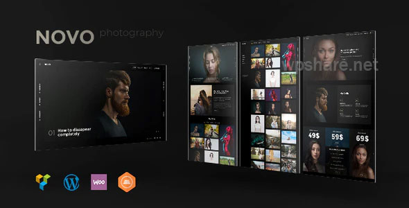 Novo – Photography WordPress Theme v3.1.6