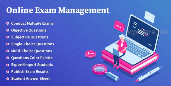 Online Exam Management 2.4 – Education & Results Management