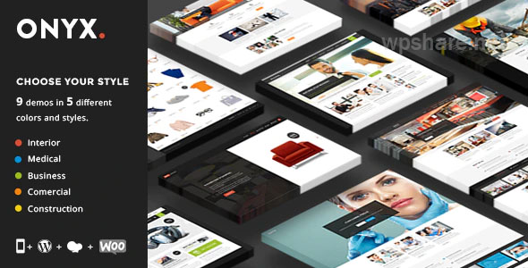 Onyx – Multi-Concept Business Theme v3.3