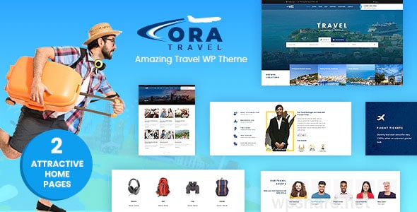 Ora – Travel Booking v1.6