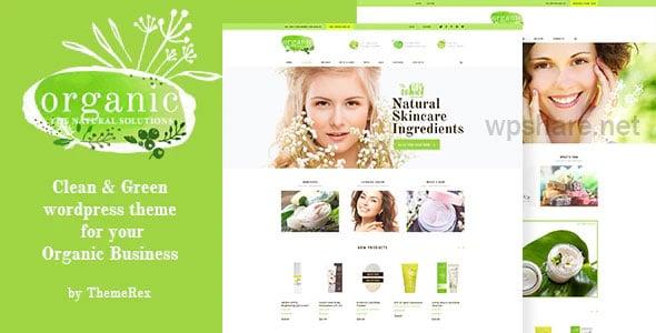 Organic Beauty 1.4.2 Store & Natural Cosmetics WordPress Theme