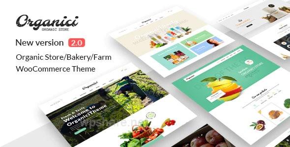 Organici 2.1.0 – Organic Store & Bakery WooCommerce Theme