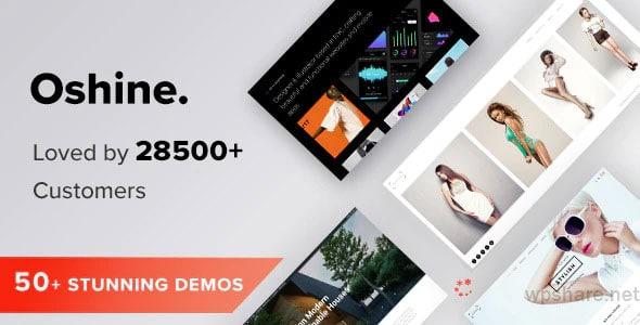 Oshine 6.9.8 – Creative Multi-Purpose WordPress Theme