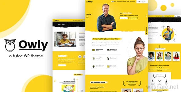 Owly 2.2 – Tutoring & eLearning WP Theme